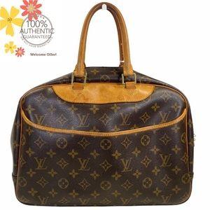 Louis Vuitton Satchel bag Deauville Brown monogram